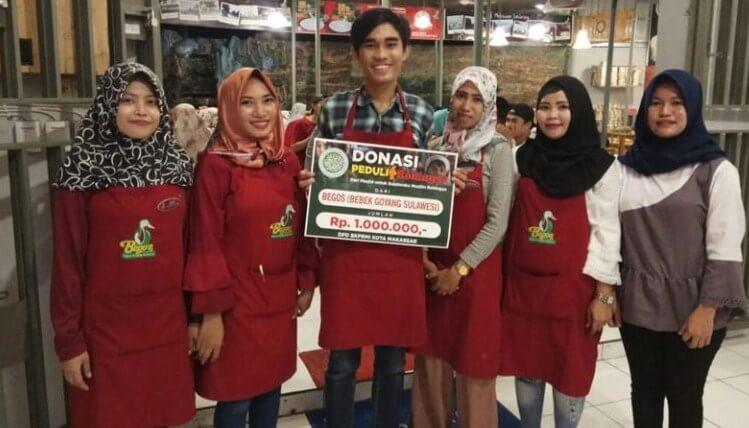 Donasi Begos  untuk Rohingnya